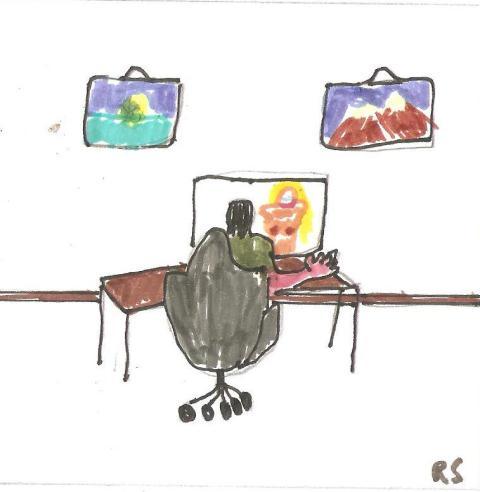 Mein erster Cartoon